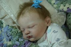 Adorable Baby Girl Reborn by Grama's Forever Babies