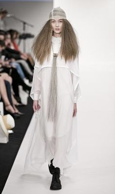 Lela Jacobs at NZ Fashion Week.