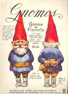 Gnomes! I loved loved loved this book as a kid. Must get it for my little one.