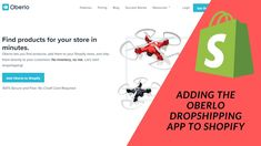 Shopify Tutorials: Adding The Oberlo Dropshipping App To Our Shopify Store Success, Tutorials, Ads, Let It Be, Store, Tent, Shop Local, Larger, Business