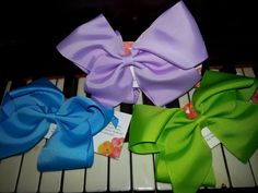 Hair Bow Clip. One Hair Bloom hair accessory by BySunshineDesign, $6.95
