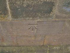Cut Mark Thurgoland, Holy Trinity Church SE 28864 01116