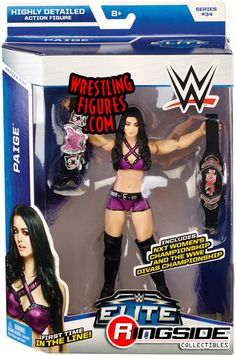 Paige - WWE Elite 34 | Ringside Collectibles