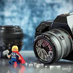 """""""Thor don't like photo"""" Photo and caption by Samsofy.s """"Thor don't like photo"""" Photo and caption by Samsofy.s - Best Lego Disney Lego Humor, Marvel Dc, Lego Marvel, Lego Batman, Thor, Lego Disney, Disney Art, Photo Lego, Legos"""