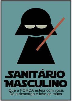 Sanitario Masculino Star Wars by ElitonZ