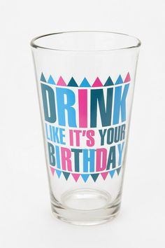 Your Birthday Pint Glass