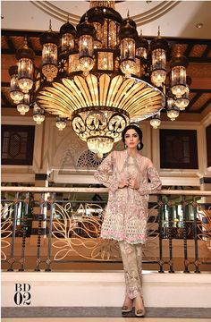 Maria B Mbroidered Eid Collection 2016- Best Women Dresses (19)
