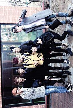 BTS went to Jungkookie's school