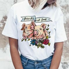Women Clothing, Vegan, Friends Not Food!