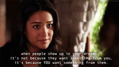funniest hanna quotes from pretty little liars | ... emily pretty little liars dreams pll beautiful quotes life quotes