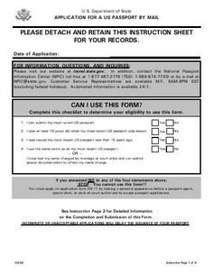 Know How To Download Passport Application Form  Forms