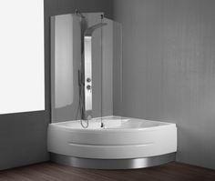 La vasca doccia combinata è infatti la scelta migliore per chi non intende rinunciare alla praticità della doccia e al comfort di un bagno rilassante.