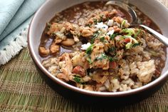 Turkey Gumbo is usually made from the broth you make from the leftover turkey after carving it up on a holiday. Never throw it away! If you don't make gumbo the next day, you can always save it in your freezer.