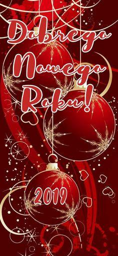 Kartka świąteczna ⛄🌲🎅⛄🌲🎅⛄🌲🎅 Happy New Year, Neon Signs, Christmas, Navidad, New Years, Happy New Years Eve, Weihnachten, Yule, Christmas Movies