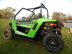 "Used 2014 Arctic Cat Wildcat Trail ATVs For Sale in Wisconsin. 2014 Arctic Cat Wildcat Trail, 700 CC, EFI, FOX SHOCKS, INDEPENDENT REAR SUSPENSION, 50"" WIDE, LOW MILES! - . Give us a call toll free at 877=870-6297 or locally at 262-662-1500. There will be more pictures available upon request. We also offer great financing terms for qualifying credit. Call us for buying or trading your motorcycle, atv, or snowmobile."