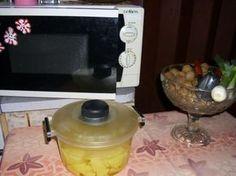 Brambory v mikrovlnce Microwave, Microwave Oven, Microwave Cabinet