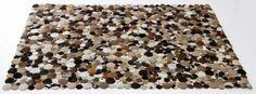 NOVÝ koberec z pravej kože - značka KARE - 1