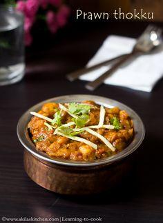 Prawn thokku | Shrimp thokku | Eral Thokku | Prawn recipes | Sunday Special Recipes | South Indian Prawn Recipe