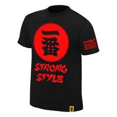 """Shinsuke Nakamura """"Ichiban"""" Authentic T-Shirt - WWE US"""