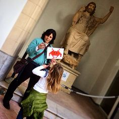 #InvasioniDigitali #siciliainvasa2015 #welovethisgame #invadiamoilsalinas #museosalinas #igerspalermo #veryscazzer