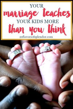 Your marriage teaches your kids so much more than think. It builds a legacy and framework for marriage that they will carry with them all their lives. Click...