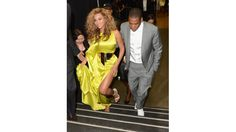 Beyonce and Jay-Z at the 2012 BET Awards