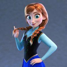 Princess Anna - Wreck It Ralph 2 Disney Nerd, Disney Fan Art, Cute Disney, Disney Girls, Anna Frozen, Disney Frozen Elsa, Anna Disney, Disney And Dreamworks, Disney Pixar