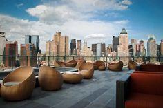 Roof terrace lounge Thompson Toronto