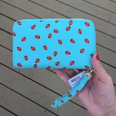 NWT ladybug wallet wristlet NWT ladybug wallet wristlet Bags Wallets