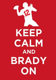 haha ok, not a fan of tom brady but cute sign since im a Brady now!