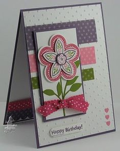 Love the flower! Stampin' #Cute pet #pet boy| http://cute-pet-930.lemoncoin.org