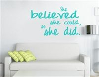 Enjoy a wall decal sticker for runners. They make just the little perfect gifts for runners or the perfect little congratulations! Available in 20 different color at $19.99 only!