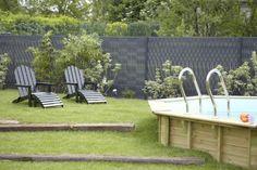 Brise vue de jardin en matériau synthétique par Dirickx Groupe