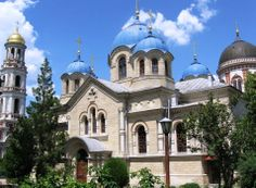 Noul Neamt Monastery - Exterior view