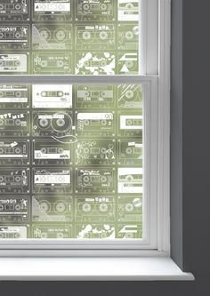 Mini Moderns' homage to the humble cassette tape, C-60, first appeared in the Folk Rock collection.We are excited to be able to offer some of our most popular wallpaper designs as easy to i...