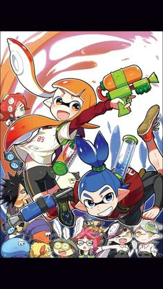 Splatoon! A gamer master piece!