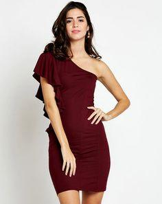 1aaab83596 Buy Port Amelia One Shoulder Dress Online at StalkBuyLove