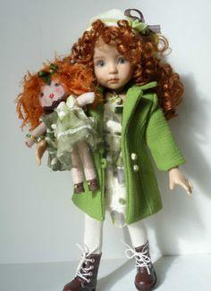 "OOAK Handmade unique OUTFIT Little Darling D Effner ""Avec Margot!"""
