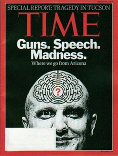 2011   Four Decades Of Magazine Gun Violence Covers