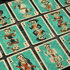Fuego! - Day of the Dead Inspired Playing Cards by Cellar Window — Kickstarter