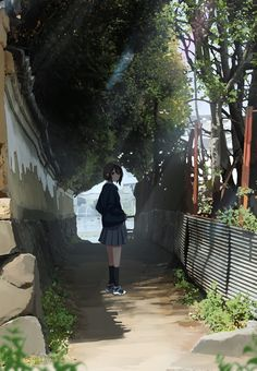 /r/Moescape is a place to post all of your favorite artworks and screen caps of cute Anime characters in their environment. Anime Scenery Wallpaper, Anime Artwork, Art Manga, Anime Art Girl, Aesthetic Art, Aesthetic Anime, Japon Illustration, Art Background, Back To Nature
