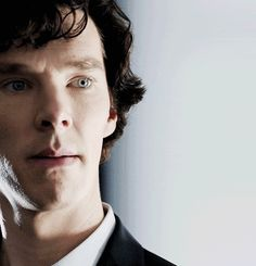 Benedict Cumberbatch as Sherlock. Oh! This is interesting!