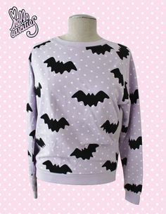 Etsy : Hello Cavities Twinkle Twinkle Bat Sweatshirt in LAVENDER : $57.00