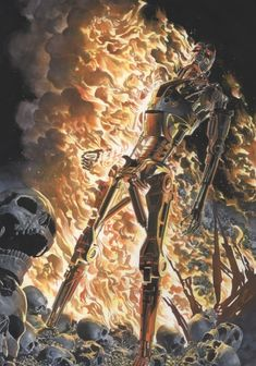 Terminator - The Burning Earth by Alex Ross *