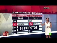 España cae 14 puestos en el ránking mundial de bienestar social