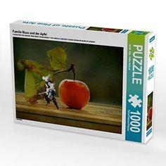 Familie Maus und der Apfel 1000 Teile Puzzle quer