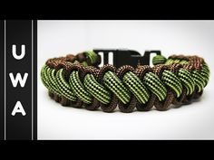 How to make the Bootlace Paracord Survival Bracelet With Buckle (Curling Millipede) [Tutorial] - YouTube