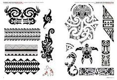 Tatuajes polinesios y maorí