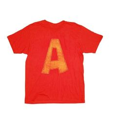 Alvin and the Chipmunks Alvin A Distressed T-shirt Tee