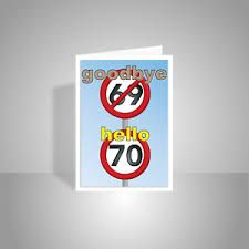 Image result for 70th birthday cards men